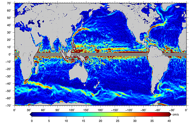 Satellites and Ocean Currents - SpaceRef on satellite maps of the atlantic ocean, satellite map of atlantic ocean floor, satellite maps of north pole,