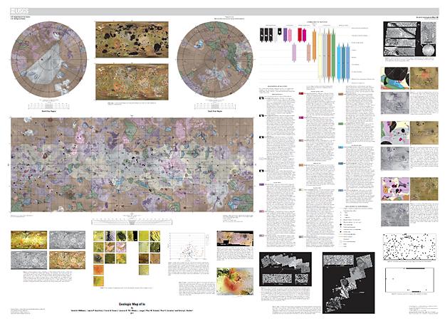 New Geologic Map of Jupiter's Moon Io Documents Dynamic ...