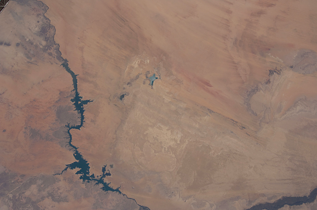 Image: Toshka Lakes in Southern Egypt As Seen From Space