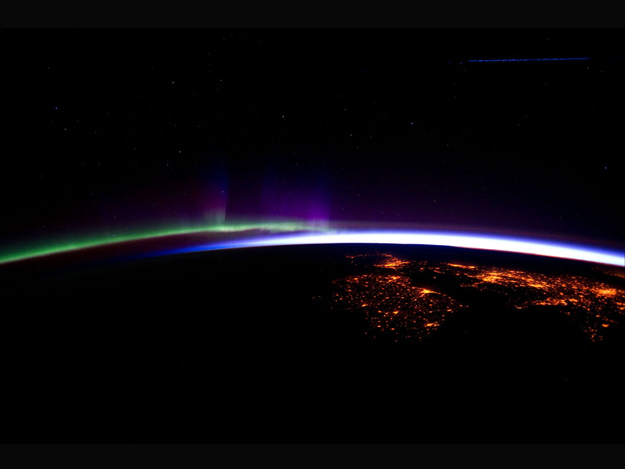 Image: Aurora Borealis As Seen From the Space Station ...