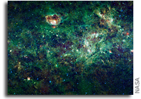 NASA Releases New WISE Mission Catalog of Entire Infrared Sky