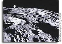 Image: GRAIL's MoonKAM Looks Homeward Toward Earth