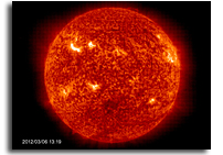 Video: X-class Solar Flares and Solar Tsunami