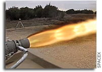 SpaceX Test Fires Advanced New Engine (with Video)