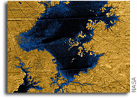 River Networks on Titan