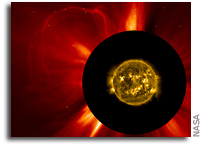 STEREO Detects a CME From the Sun