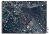 CSA Releases Satellite Image of Lac-Mégantic Disaster Area
