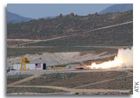 ATK and Air Force Successfully Test New Large Class Stage I Rocket Motor