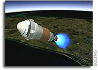 Boeing Completes Launch Vehicle Adapter Review