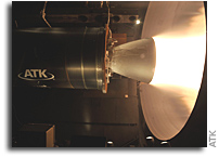 ATK Tests New CASTOR 30XL Upper Stage Solid Rocket Motor