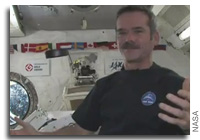 Chris Hadfield Drops Puck At Maple Leafs Home Opener