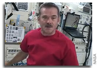 Chris Hadfield Interview with Radio Canada