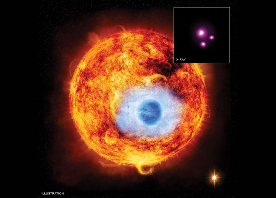 NASA X-ray Telescope Observes Planet Passing in Front of its Star for ...