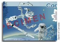Canada's New $5 Bill Unveiled In Space