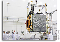 Next Boeing GPS IIF Satellite Arrives at Cape Canaveral for Launch