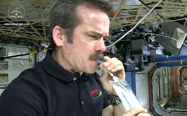 Drinking Water In The Iss
