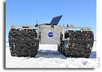 Rover Prototype Set to Explore Greenland Ice Sheet