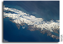 South Georgia Island As Seen From Space