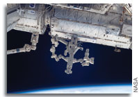 The International Space Station Destiny Lab with Canadarm and Dextre