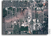 Moore, Oklahoma, before and after, seen by Pleiades