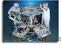 ATK Demonstrates Network-Centric USAF Weather Satellite Follow-On Architecture
