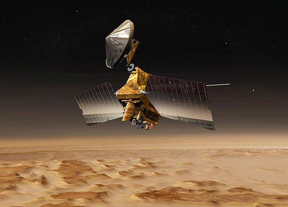 Mars Reconnaissance Orbiter Completes 50,000 Orbits