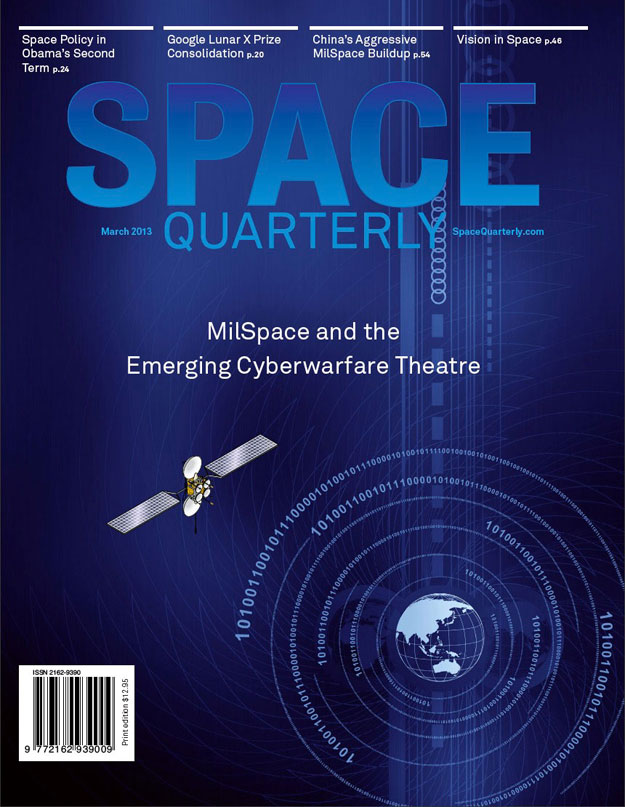 Space Quarterly Magazine US March 2013 Cover