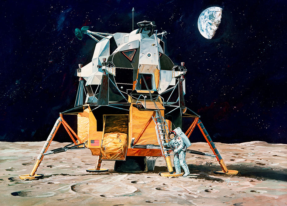 neil armstrong first step - photo #25