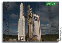 Ariane 5 Launch of Alphasat and INSAT-3D