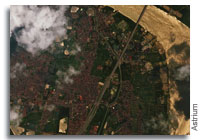 First Images from Vietnam's VNREDSat-1 Satellite