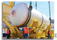 ATK Completes Solid Rocket Booster Preliminary Design Review for SLS