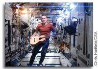 Chris Hadfield Space Oddity Music Video