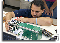 CubeSat Launch Tests Satellite Innovations