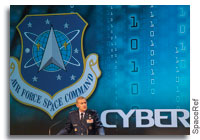 The Emerging Space Cyberwarfare Theatre