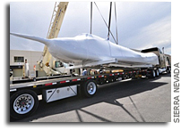 Dream Chaser Shipped to Dryden