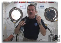 Chris Hadfield Speaks to Students at Chris Hadfield Public School