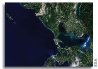 Earth from Space: Northern Greece