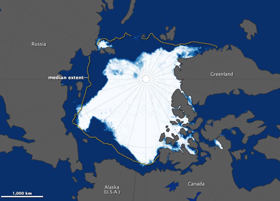NASA Data Shows 2013 Arctic Sea Ice