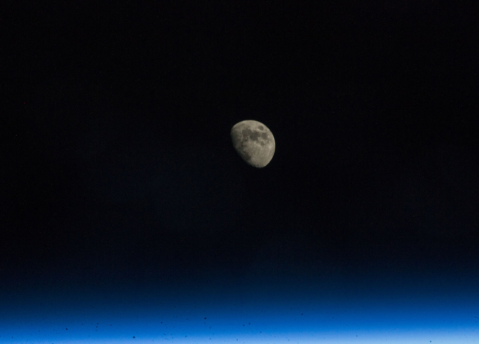 NASA Space Station On the Moon - Pics about space
