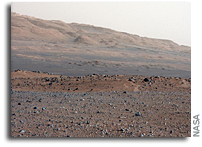 Wind, Not Water, May Have Formed Mount Sharp on Mars