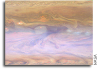 'Hot spots' ride a merry-go-round on Jupiter