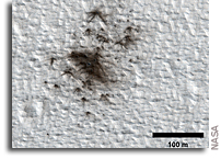 Counting Space Rock Impacts on Mars