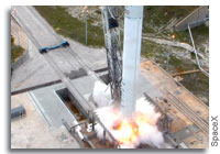 SpaceX CRS-2 Static Fire