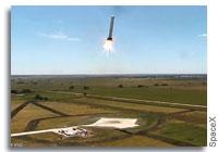 SpaceX Grasshopper Performs Divert Test