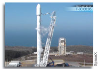 SpaceX Conducts Second Hot Fire Test of Falcon 9 v1.1