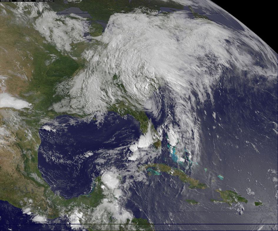 Tropical Storm Andrea June 7, 2013 - SpaceRef