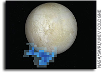 Galileo Ionosphere Profile Coincident With Repeat Plume detection Location at Europa
