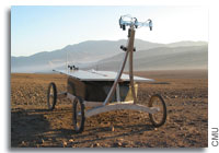 Zoe Robot Returns to Chile's Atacama Desert On NASA Mission