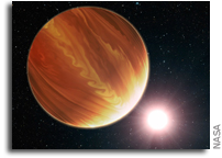 Astronomers come up dry in search for water on exoplanets