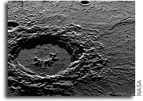 Hokusai Crater on Mercury